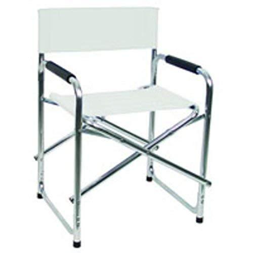 Sedia Vette in alluminio Regista Studios bianco