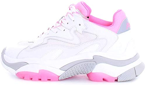 ASH Addict Weiß Fuchsia Sneaker Damen Ss 2020