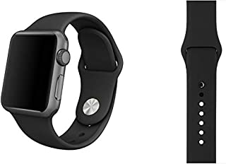 Black Sport Band 42mm For Smart Watch