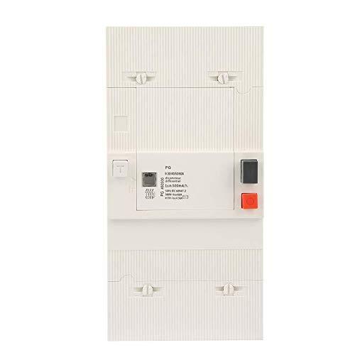 Mozusa Circuit Breaker, 30-60A de 4 polos del interruptor 50Hz / 60Hz aire de baja tensión del interruptor de circuito de protección for la distribución de energía Sistema de Iluminación (tipo C) Moto