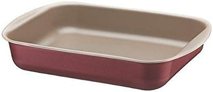 Assadeira Funda de Alumínio com Revestimento Interno Antiaderente Tramontina Brasil Vermelho