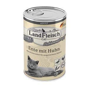 Landfleisch Adult Schlemmertopf mit Ente&Huhn | 6X 400g Katzenfutter