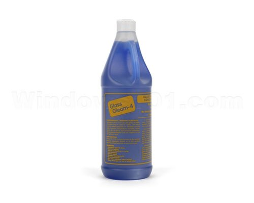 Glass Gleam 4 - Glass and Window Cleaner - Highly Concentrated - 1 Quart (Makes 128 gallons of RTU Product) - 54012