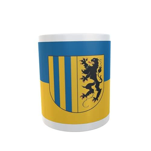 U24 Tasse Kaffeebecher Mug Cup Flagge Chemnitz