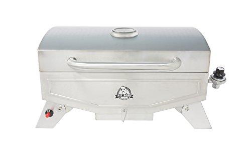 Pit Boss Grills PB100P1 Pit Stop Single-Burner Portable Tabletop Grill , Grey