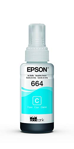Epson Botella De Tinta Ecotank Color Cyan, T664220