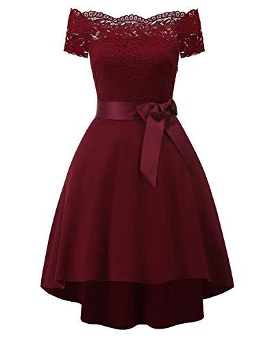 Vestido De Novia Con Color Rojo