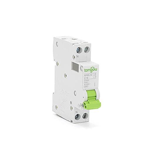Dpn 16a Mcb 1p + N 110v 220v Curva C Ca Mini Interruptor-B25
