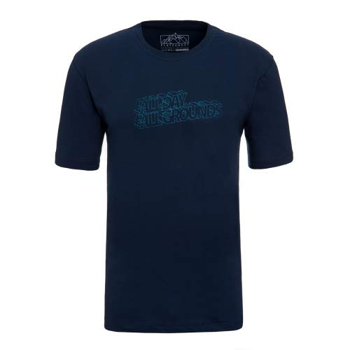 platzangst All Day T-Shirt - Blau Größe L