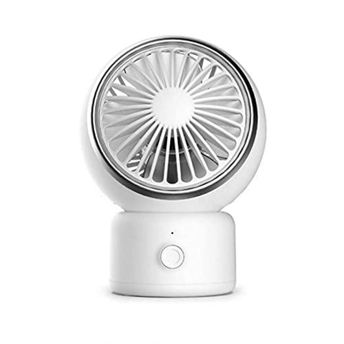 N\C Ventilador Oscilante Ventilador PequeñO PortáTil De Mano Ventilador USB Silencioso para El Hogar Ventilador EléCtrico De Escritorio