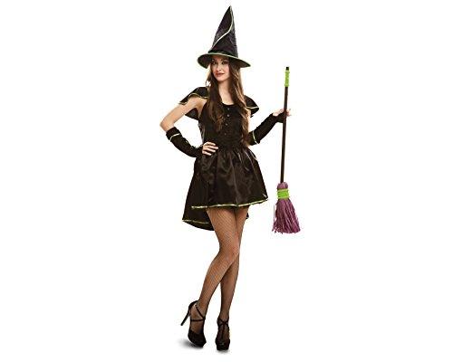 Desconocido My Other Me - Disfraz de bruja para adultos, talla M-L, color verde (Viving Costumes MOM02729)