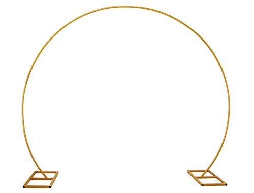 PILIN Metall Gold Runde Ballon Bogen DIY Gebogene Bögen für Geburtstagsfeier Hochzeitstag usw