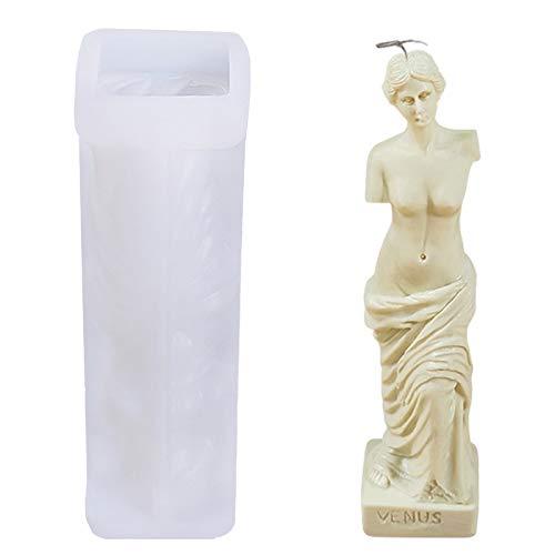 Kit per la creazione di candele per il corpo per adulti – stampi in silicone fatti in casa per candele di soia, creazione di candele di cera fai da te, anche kit in resina (Venus)