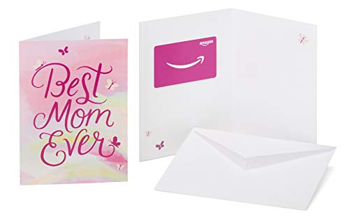 Amazon.com Gift Card in a Greeting Card (Best Mom Ever Design)