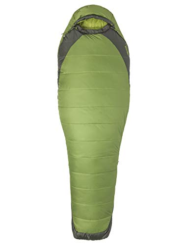 Marmot Wm's Trestles Elite Eco 30 Long Sac de Couchage Femme, Wheatgrass/Crocodile, FR Unique (Taille Fabricant : 183 cm)