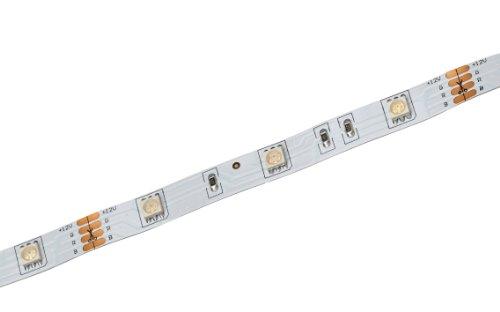 Nino Leuchten 63921517 Striscia flessibile a LED, lunghezza 500 cm, con gioco di colori RGB, incl. cavo con spina europea, interruttore e telecomando, diverse funzioni, accorciabile, 150 LED