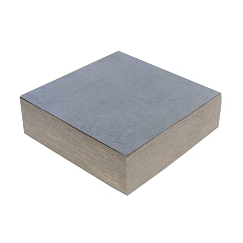 The Beadsmith Steel Bench Block - Flat Anvil Jewelers Tool - Solid Metal Bench Block for Jewelry and Stamping - Protect Your Work Surface - 2.5 x 2.5 x 0.5 inches