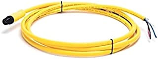 ALLEN BRADLEY 1485R-P2D5-C 2 M, STANDARD - EPOXY COATED ZINC, STANDARD 5-PIN, STANDARD 5 LEADS, DEVICENET PHYSICAL MEDIA, STANDARD PASSIVE CABLE, MICRO, THIN MEDIA, 2.0, STRAIGHT MALE, CABLE, YELLOW C