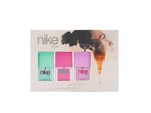 Nike - Estuche de Regalo para Mujer, Sparkling Day, Sweet Blossom, Loving Floral, Eau de Toilette 3x30 ml
