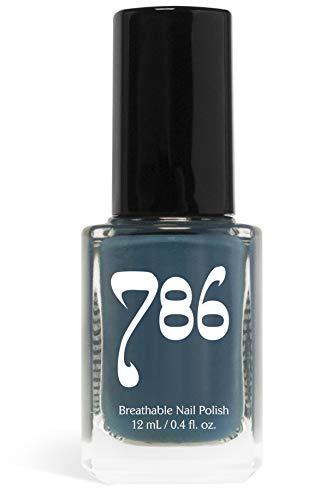 786 Cosmetics Breathable Nail Polish - Vegan Nail Polish, Cruelty-Free, Healthy, Halal Nail Polish, Fast-Drying Nail Polish (Chefchaouen)