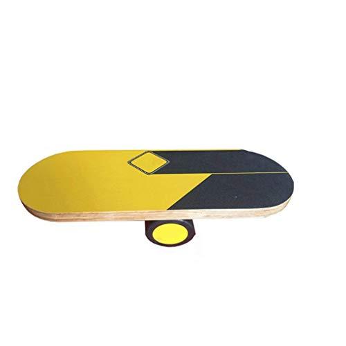 Balance Board Snowboard Surf-Ausbildungslager Holz Balance Board for Balance Trainings- und Übungs Piotherapy verbessern können Core-Kraft, Bauchmuskeln, Beine, Arm Surfen und Skateboarden Fähigkeiten