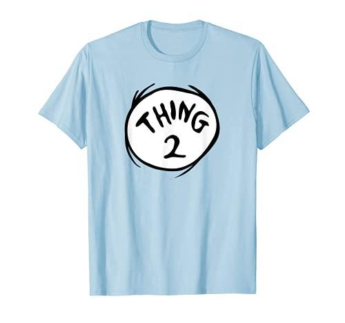 Dr. Seuss Thing 2 Emblem Color Option T-Shirt