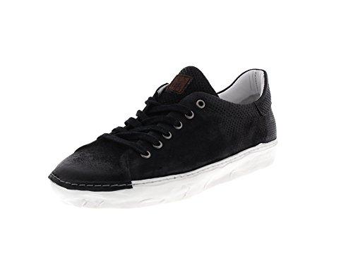 A.S.98 Herrenschuhe - Sneaker 453104 - Nero, Größe:43 EU