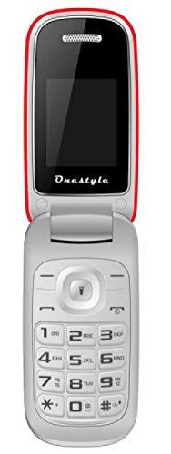 OneStyle Shell Dual SIM Klapphandy einfach und günstig, rot