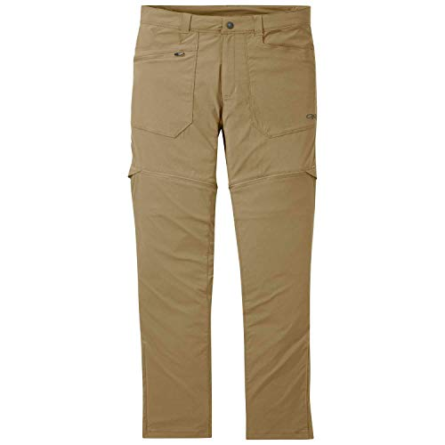 Outdoor Research Men's Equinox Lightweight Breathable UPF 50+ Convertible Pants - 32""
