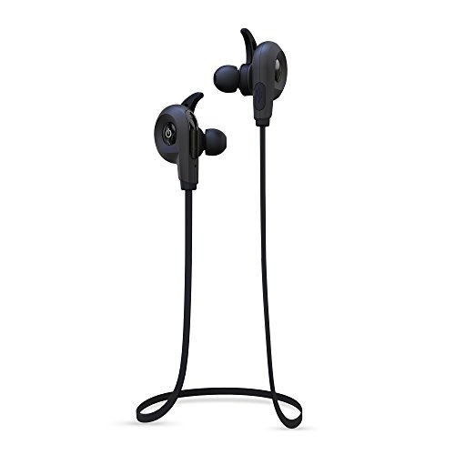 BlueAnt - Pump Lite HD Wireless Sportsbuds, IP54 Sweat-Proof, Siri and Google Integration (Black)