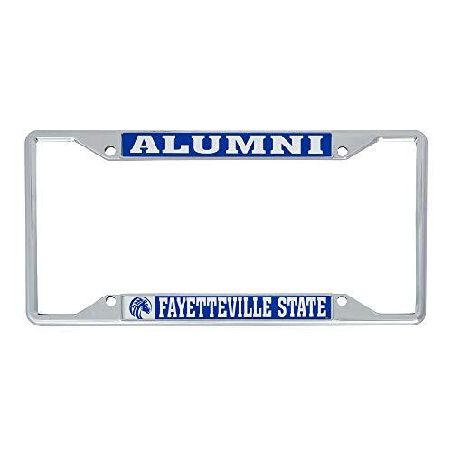 Desert Cactus Fayetteville State University FSU Broncos NCAA Metal License Plate Frame for Front or Back of Car Officially Licensed (Alumni)
