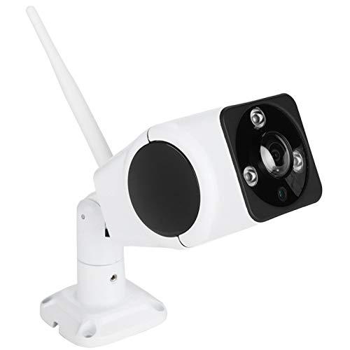DAUERHAFT WiFi 128GB Fisheye Cámara Mini cámara 3MP Alerta remota móvil IR Visión Nocturna Electrónica PTZ Almacenamiento de Alta Capacidad