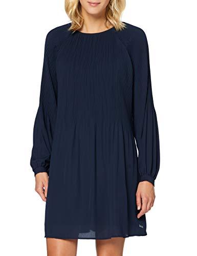 Teddy Smith 30615041D Dress Femme, Bleu (Total Navy), L