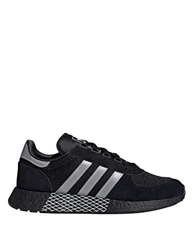 Adidas Marathon Tech Black Silver Metallic White 42.5