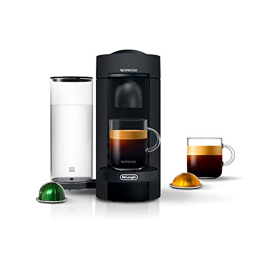 Nespresso VertuoPlus Coffee and Espresso Maker by De'Longhi, Limited Edition Black Matte