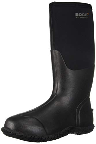 BOGS Women's Carver Tall Industrial Boot, Black, 6 Medium US