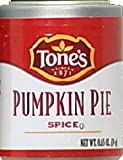 Tones Pumpkin Pie Spice Lot of 2   .65 oz 19g each
