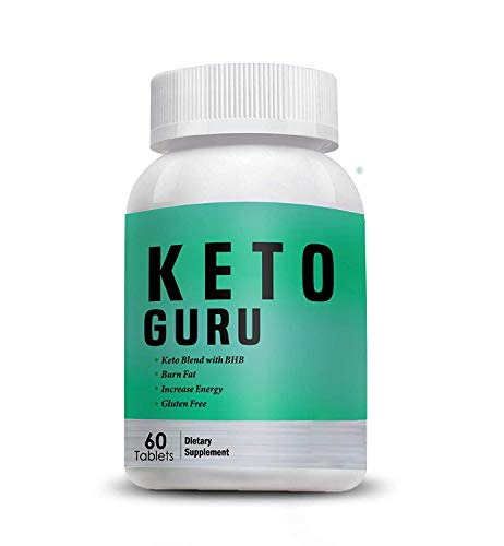 Vokin Biotech Keto Guru Tablets for weight loss 60 Tablets (Pack of 1)