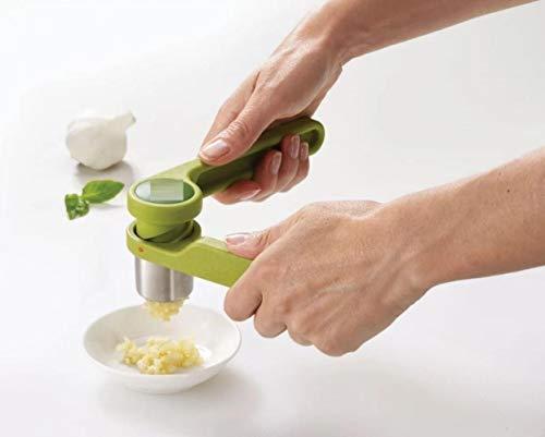 XMYNB Garlic Masher Helix Garlic Press Mincer Ergonomic Twist-Action Hand Juicer