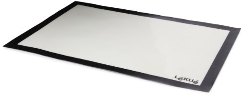 Lékué Tapis de Cuisson Silicone et Fibre de Verre 60 x 40 cm