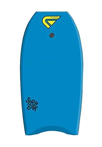 Flood Streak 41 Memphis - Bodyboard, Color Azul y Amarillo