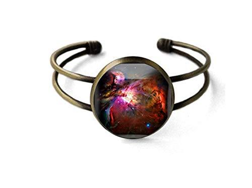 Sunshine Pulsera de joyería de moda, brazalete de estrella cósmica, regalo para ella