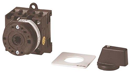Eaton 011097 Ein-aus-Schalter, 3-polig, 20 A, 90 °, Zwischenbau, Basisschalter