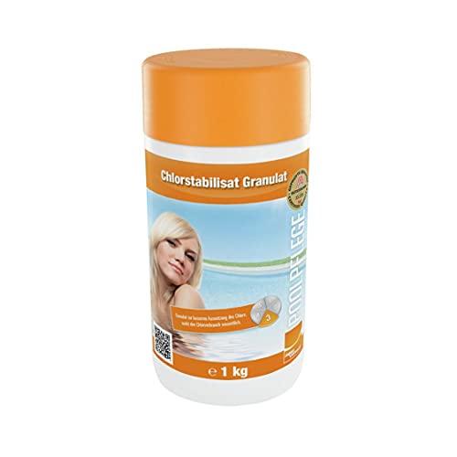 Steinbach Poolpflege Chlorstabilisat Granulat, 1 kg, besondere Anwendung, 0755601TD08