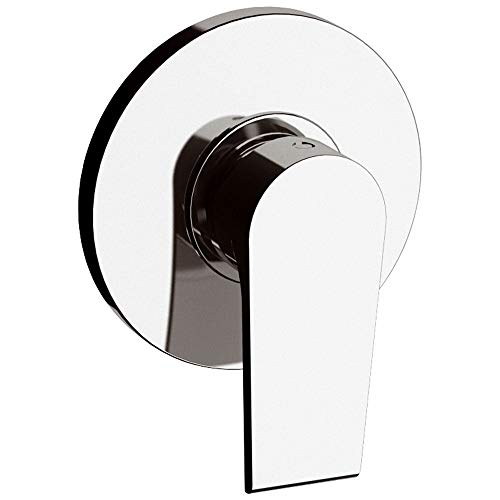 Grifo mezclador monomando para ducha empotrado de acero Mariani Artic cromado