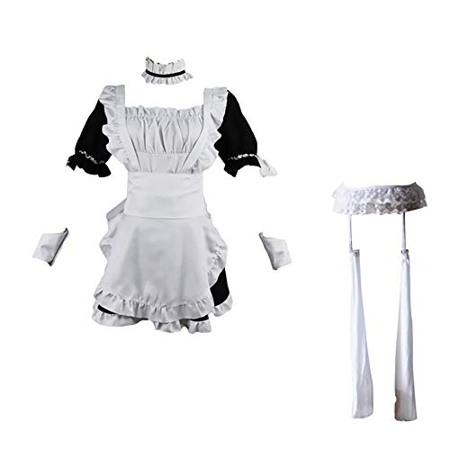 AUkaiqu12 Yosuga No Sora Cosplay Kasugano Sora Cosplay Anime Halloween Kostüm Neuheit Uniform Maid Outfit Kleid Anzug