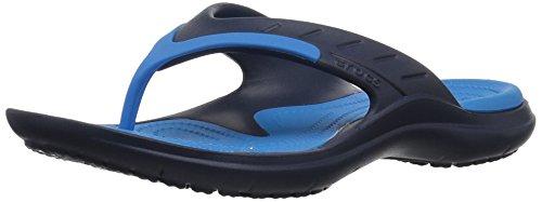 Crocs Modi Sport Flip-Flop, Gr. 37/38 EU, Farbe: Navy/Ocean