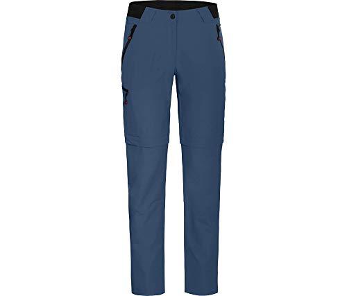 Bergson Damen Zipp-Off Hose VIDAA Comfort, Ensign Blue [383], 26 - Damen