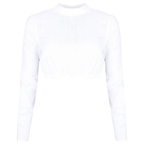 Hess Damen Trachten-Mode Dirndlbluse Ally in Weiß traditionell, Größe:54, Weiss o. a. Farbe und Formen:weiß Langarm