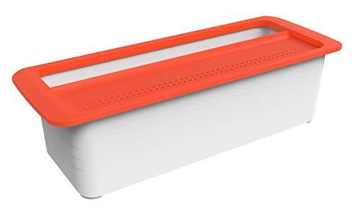 Rotho Memory Microwave Pastakocher 1.8 l, Kunststoff (BPA-frei), rot, 1,8...